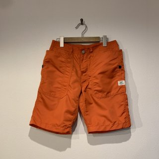 【SASSAFRAS】Fall Leaf Sprayer Pants 1/2 Nylon Oxford ササフラス スプレイヤー