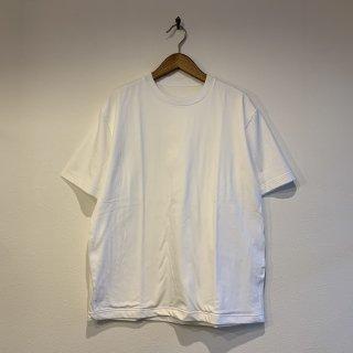 【着もちいい服】F/W FACE COMBED S/S T-SHIRT ダブルフェイス ストレッチ Tシャツ 無地