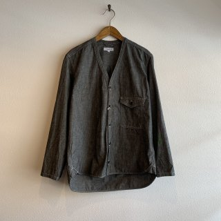 <img class='new_mark_img1' src='https://img.shop-pro.jp/img/new/icons5.gif' style='border:none;display:inline;margin:0px;padding:0px;width:auto;' />【ORDINARYFITS】 ONEMILE CARDIGAN BLK CHAMBRAY