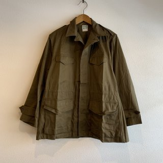 【MILITARY DEADSTOCK】 FRENCH ARMY フィールドジャケット M-47 HBT 後期型 26 46