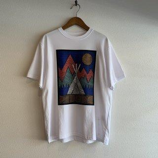 【MOUNTAIN SMITH】マウンテンスミス グラフィックプリントTシャツ
