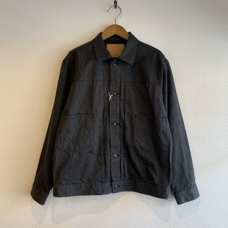<img class='new_mark_img1' src='https://img.shop-pro.jp/img/new/icons47.gif' style='border:none;display:inline;margin:0px;padding:0px;width:auto;' />【ORDINARY FITS】 DENIM JACKET 2nd ''BLACK'' デニムジャケット OF-J028