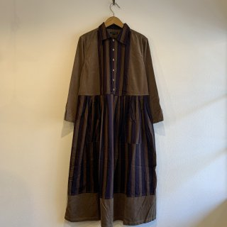 <img class='new_mark_img1' src='https://img.shop-pro.jp/img/new/icons5.gif' style='border:none;display:inline;margin:0px;padding:0px;width:auto;' />【NAPRON】 APRON SHIRTS ONEPIECE  ワンピース