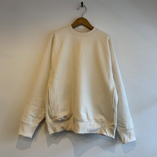 <img class='new_mark_img1' src='https://img.shop-pro.jp/img/new/icons5.gif' style='border:none;display:inline;margin:0px;padding:0px;width:auto;' />【KAPTAIN SUNSHINE】Stretch Sweat Raglan Pullover キャプテンサンシャイン プルオーバー スウェット NATURAL