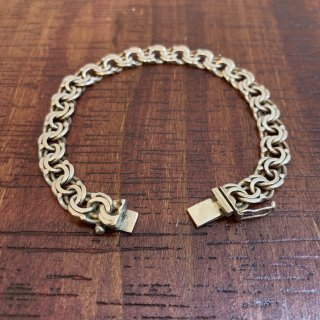 <img class='new_mark_img1' src='https://img.shop-pro.jp/img/new/icons5.gif' style='border:none;display:inline;margin:0px;padding:0px;width:auto;' />【VINTAGE SILVER】 FRENCH VINTAGE SILVER BRACELET SILVER925 フック式