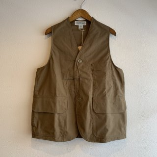 <img class='new_mark_img1' src='https://img.shop-pro.jp/img/new/icons5.gif' style='border:none;display:inline;margin:0px;padding:0px;width:auto;' />【SASSAFRAS】GARDEN TOUGH VEST C/N DUCK ササフラス
