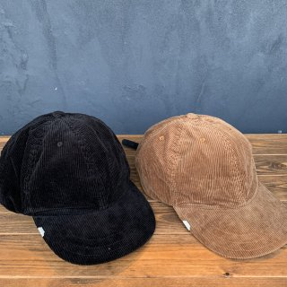 <img class='new_mark_img1' src='https://img.shop-pro.jp/img/new/icons5.gif' style='border:none;display:inline;margin:0px;padding:0px;width:auto;' />【DECHO×ANACHRONORM】 LEATHER BUCKLE CAP CORDUROY