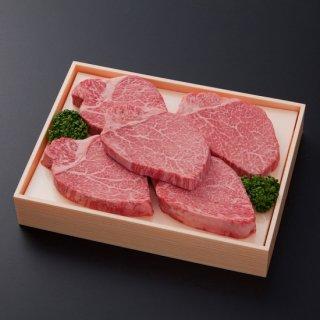 【お中元特価】九州産黒毛和牛 ヒレステーキ600g(120g×5枚)