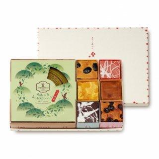 美濃いび茶もっちりクーヘン[抹茶]&奏でる積み木6個セット
