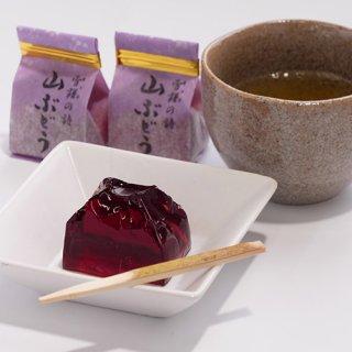 雪譜の詩(山ぶどう)ゼリー10個箱入|青木菓子店