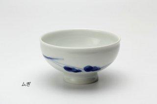絵替り飯碗(ムギ)近藤聖子