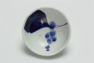 絵替り豆鉢 ヤマブドウ柄近藤聖子