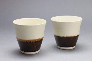 掛分フリーカップ(茶)堂本正樹