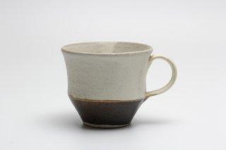 掛分マグカップ (茶)堂本正樹
