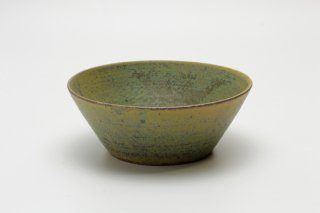 round bowl(グリーン)矢嶋洋一