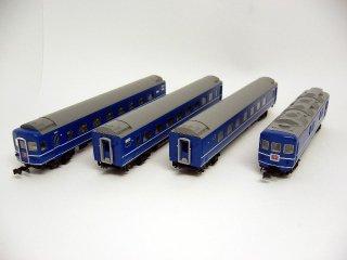 〔01月再生産〕 10-811 24系 寝台特急「ゆうづる」 6両基本セット