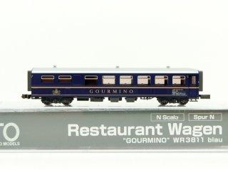 〔02月新製品〕 5280 アルプスの青いレストランカー WR3811 <GOURMINO>