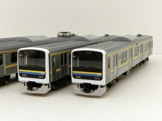 98628 JR 209 2100系通勤電車(房総色・6両編成)セット(6両)