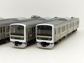 98629 JR 209 2100系通勤電車(房総色・4両編成)セット(4両)