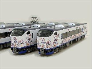 98674 JR 281系(ハローキティ はるか・Butterfly)セット(6両)