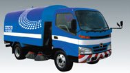 高速路面清掃車 HS-400W ブルー