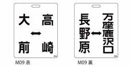 M09 大前⇔高崎/長野原⇔万座鹿沢口(吾妻線)