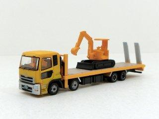 132 UDトラックス クオン 重機運搬車(油圧ショベル)