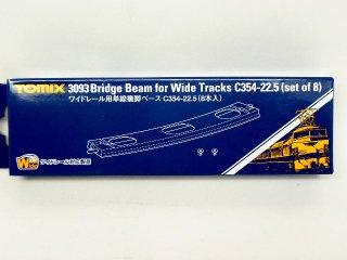 3093 ワイドレール用単線橋脚ベースC354-22.5(8本入)