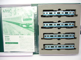 10-544 E233系1000番台京浜東北線 4両増結セット