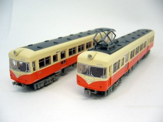 〔2両セット〕 北陸鉄道 クモハ6001+クハ6051(393+394)
