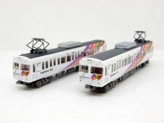 〔2両セット!〕 アルピコ交通 モハ3007+クハ3008 (657+658)
