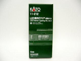 11-212 LED室内灯クリア(白色・6両分入)