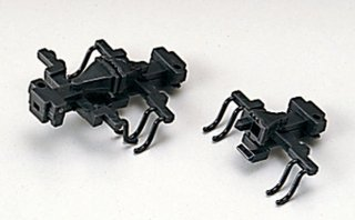 11-703 KATOカプラー密連形A 黒 (アーノルドカプラー用 20個入)