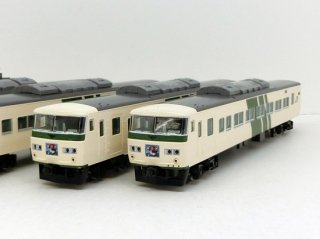 [08月再生産]  98304 185-0系(踊り子・強化型スカート)基本セットB(5両)
