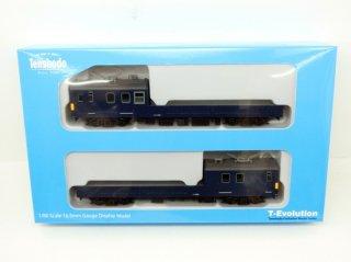 [2020年夏頃予定] 65007 クモル145+クル144 2両セット 国鉄タイプ(ユニット窓枠グレー)