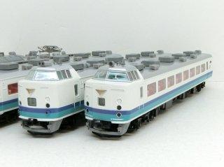 485系1000・1500番台上沼垂色 グレードアップ特急「雷鳥」基本+増結9両フルセット(A3694+A3695)