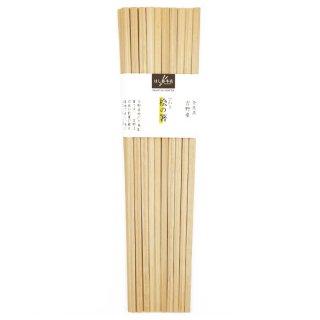 奈良県 吉野産 桧の箸 10膳入