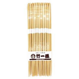 竹一番 先細竹削箸 帯付 23.5cm 25膳入