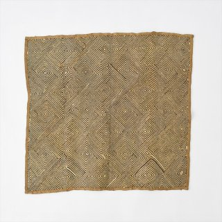 Old Bushoong Kuba Cloth C(クバ布)