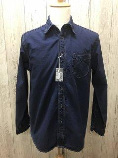 コリンボ 長袖インディゴシャンブレーシャツ Colimbo/Willowbrook L/S Shirt  ZU-0301