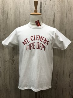 リアルマッコイズ MLK MT.CLEMENS FIRE DEPT.プリントTee JOE McCOY MC20023