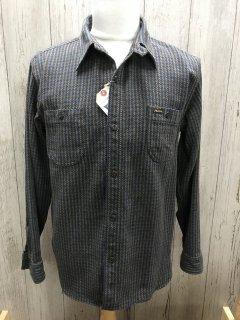 フェローズ 20W-720WS ヘビーウェイト フランネルシャツ  OLIV 千鳥格子チェック ワークシャツ PHERROW'S