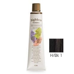 フォードヘア化粧品 ハイトーンハーバル H/Bk 1(ブラック)120g(医薬部外品)