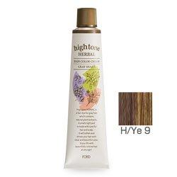 フォードヘア化粧品 ハイトーンハーバル H/Ye 9(イエローブラウン)120g(医薬部外品)