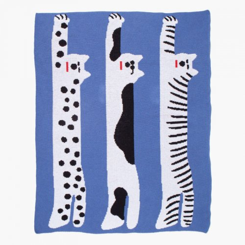 Slowdown Studio / Mini Blanket - Cool Cats