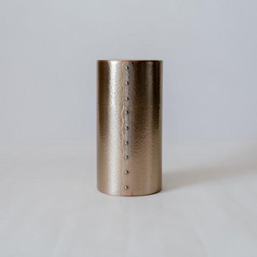 富貴堂 / 茶筒・200g(金色)