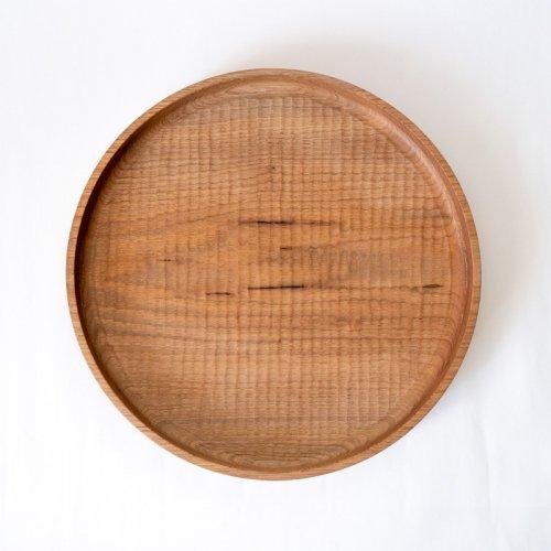 堀宏治 / 丸盆 くるみ(30cm)