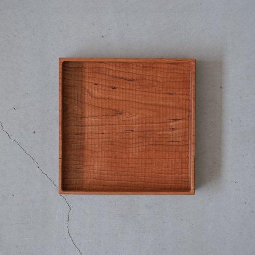 堀宏治 / 深角盆 さくら(正方形)