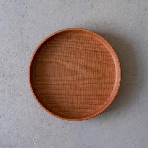 堀宏治 / 深丸盆 さくら(24.5cm)