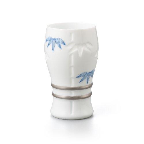 透かし彫 竹 ビアグラス
